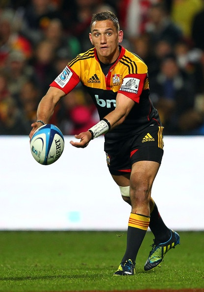 Aaron Cruden Photo - Super Rugby Semi Final - Chiefs v Crusaders
