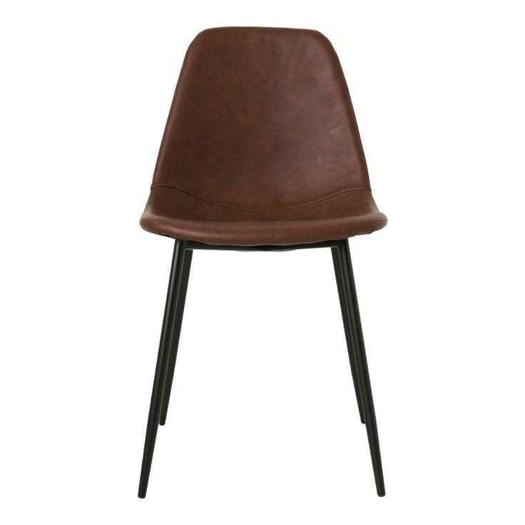 Stol 'Forms' - Konjaksbrun - Köp möbler och inredning på Reforma Sthlm