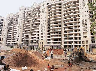 Developers take a low cost loan from the fund at 12-14% rate. The fund also takes a certain number of apartments as equity kicker.