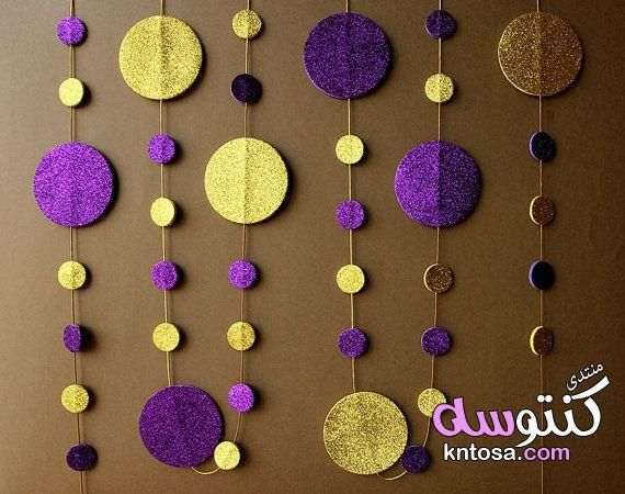 اعمال فنية من الفوم الملون Jasmine Party Bridal Shower Decorations Purple Jasmine Birthday
