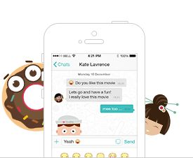 IjoinApp - smart messenger. stay in touch with friends from your phone adress book and share activities