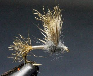 Fly Fishing and Fly Tying: Improved Sparkle Dun