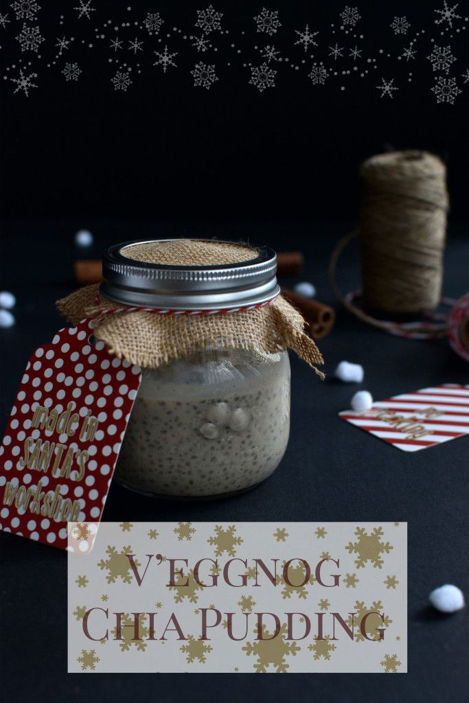 Delicious and healthy chia pudding for a seriously festive breakfast!