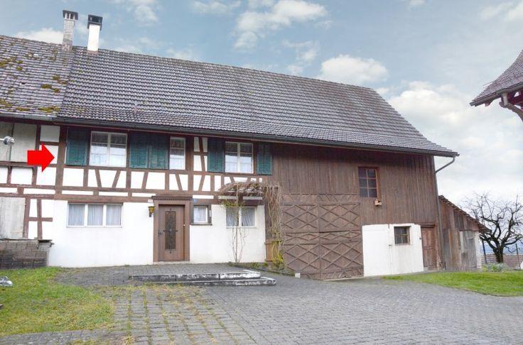 Bauernhaus mit Potenzial als Umbauobjekt mit unverbaubarer Fernsicht zu den Alpen