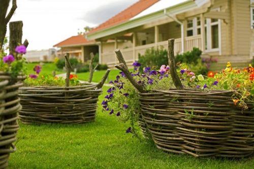 Ландшафтный дизайн - Категория: Ландшафтный дизайн - Изображение: Деревенский стиль на даче