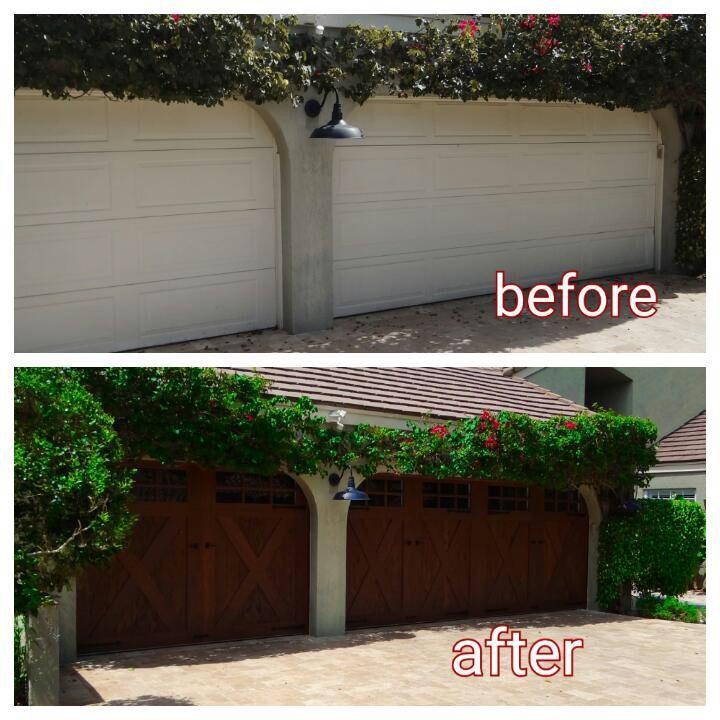 7 best before after images on pinterest garage doors for Garage door opener miami fl