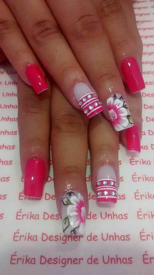 2036 best Uñas images on Pinterest | Acrylic nail art, Acrylic nails ...