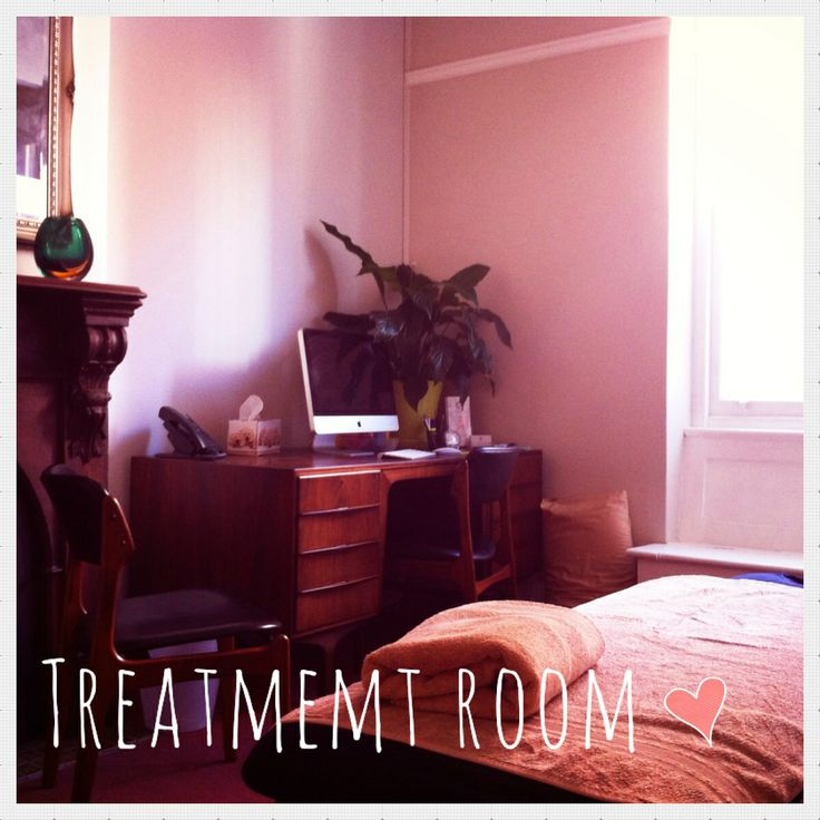 One of our beautiful treatment rooms