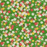 RKB8805 Spring Floral Pond Washi Paper - 8.5x11 - Bulk by Hanko Designs   www.HankoDesigns.com - 2015
