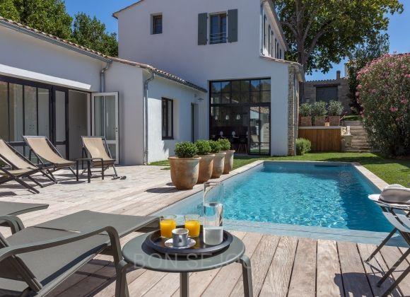 Location Villa Avec Piscine Sur L Ile De Re Archibald Maison