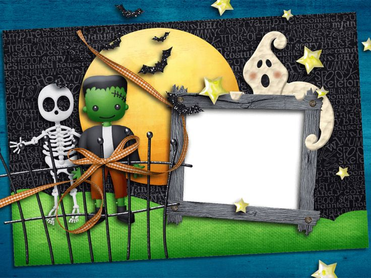 24 best Halloween Frame images on Pinterest | Autumn, Borders and ...