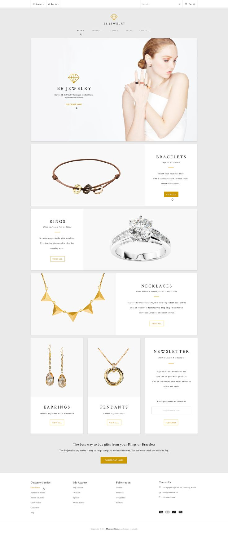 Dribbble - bejewelry_home.jpg by C-Knightz Art