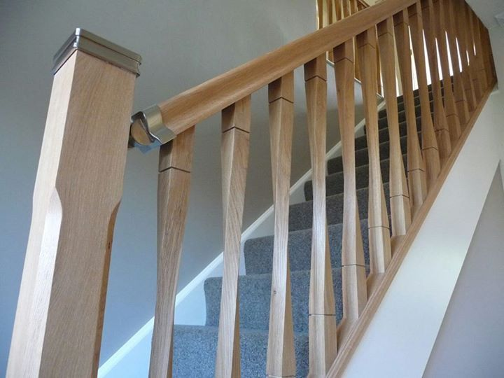 16 best images about Oak Stair Parts, Handrails, Caps ...