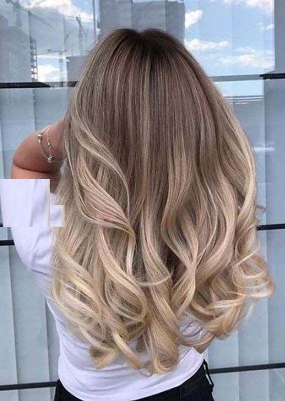 Awesome Long Layred Balayaged Hairstyles Trends in 2019