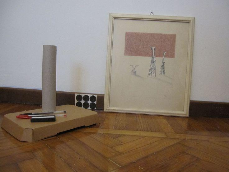 torre e disegno