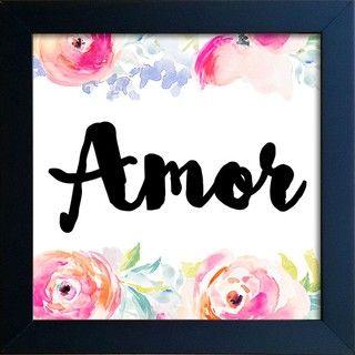 Quadro Amor - Encadreé Posters