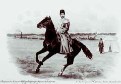 Терские казаки в Императорском конвое