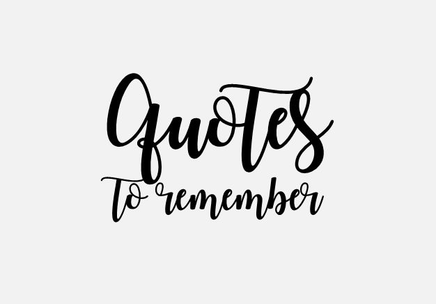 Pinterest Board: quotes to remember // Zitate