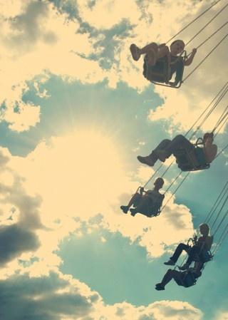 summertime: Summer Memories, Blue Sky, Amusement Parks, Cloud, Fair Riding, Summer Fun, Summertime, Summer Clothing, Summer Time