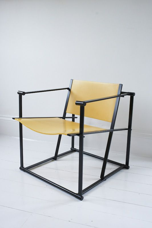 Radboud van Beekum FM60 Cube Chair for Pastoe 1980