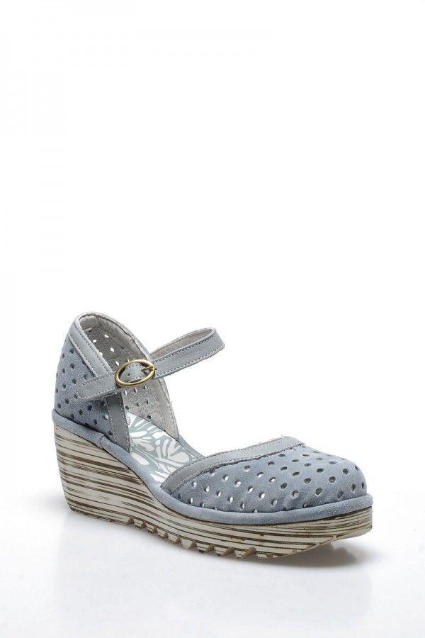 İnci Kadın Ayakkabı Açık Mavi