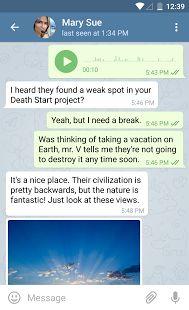 Telegram– уменьшенный скриншот