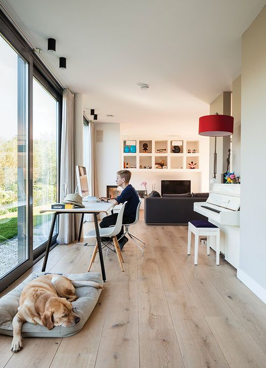 Warm Wood Floors Done Right