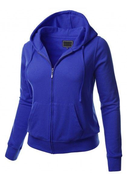 Fleece Zip-Up Hoodie Jacket - New Arrival