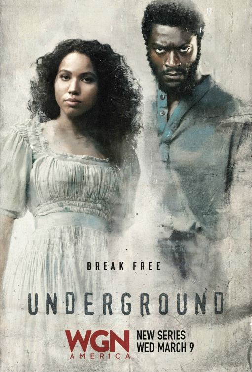 Underground centers on a group of slaves planning a daring 600-mile escape from a Georgia plantation. Along the way, they are aided by a secret abolitionist couple running a station on the Underground Railroad as they attempt to evade the people charged with bringing them back, dead or alive. (2016)