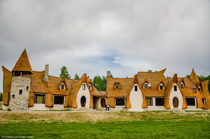 The Valley of the Fairies Lodge in located near Sibiu, Romania. So, if you look to re-create the beloved fairy tale experience....