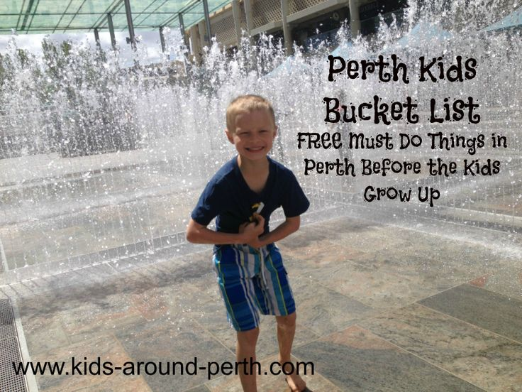 Kids Perth Bucket List - FREE Must Do Things In Perth Before The Kids Grow Up!