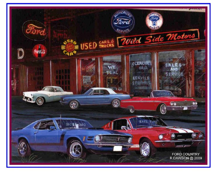 Best Muscle Car Art Images On Pinterest Car Painting Muscle