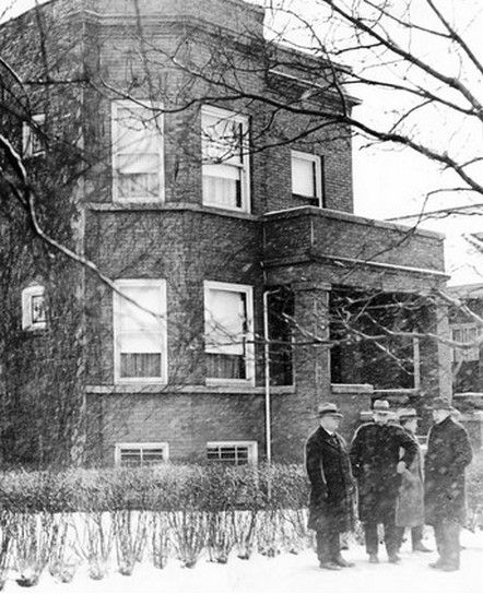 Al Capone's Chicago Home for Sale:  Capone, perhaps the most famous gangster of all time, purchased the two-flat home in the Chicago working-class neighborhood of Grand Crossing in 1923 for $5,500.  According to the Chicago Tribune, the asking price of $450,000 is a bit exorbitant for this working-class South Side neighborhood, since similar two-flats are selling for $180,000 to $230,000. But the seller & real estate agent both feel its historic significance will bring the right buyer.