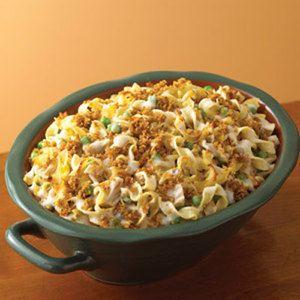 Tuna Noodle Casserole | http://www.rachaelraymag.com/recipe/tuna-noodle-casserole/