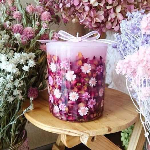 19+ Read What an Old Pro Thinks About Homemade Pressed Flower Candles