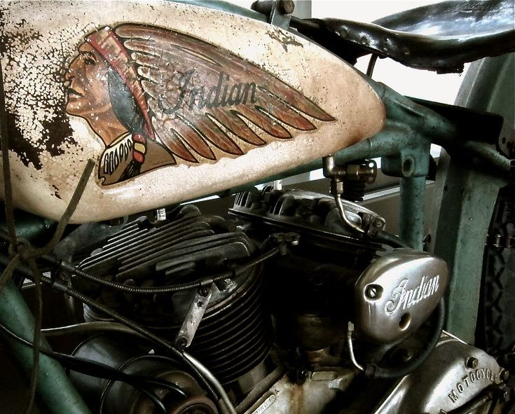 If I could only find a barn bike like this! Indian #motorcycle #iwish