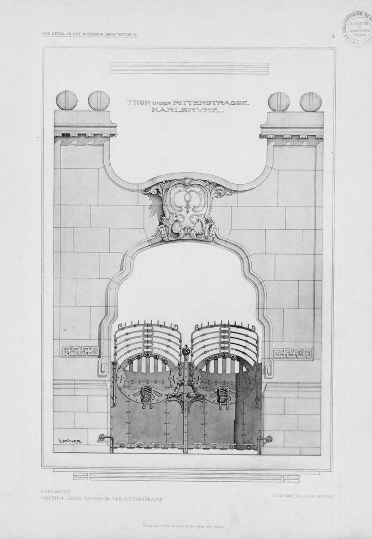 149 best projects images on pinterest architectural drawings serie iv einzelheiten neuer bauten deutschlands un fiedler l architectural malvernweather Choice Image