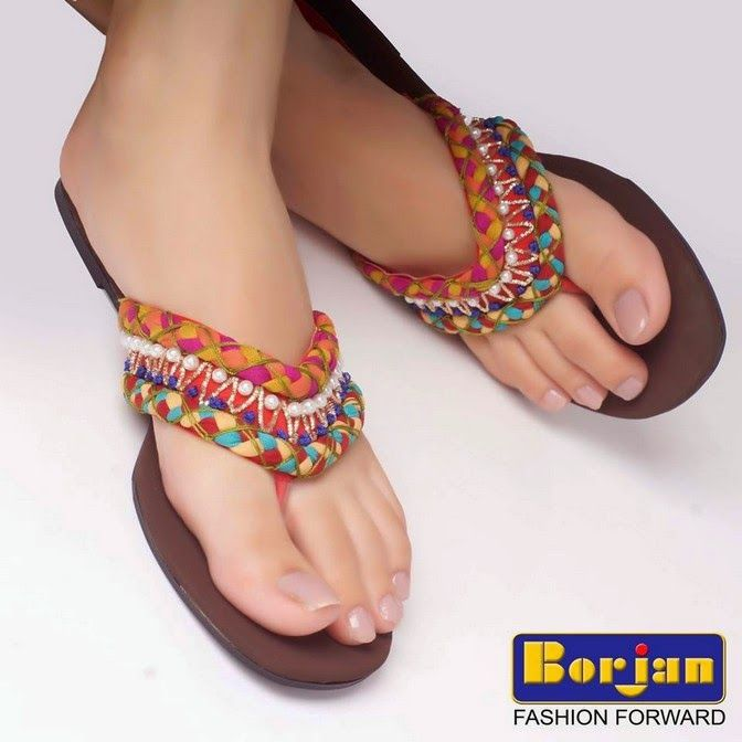 Borjan Ladies Shoes Eid Collection 2014 Latest Style Fashion 1 Borjan  Ladies Shoes Eid Collection 2014