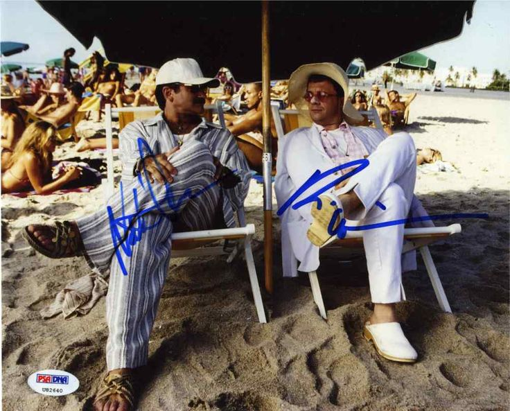 The Birdcage Robin Williams and Nathan Lane Signed 8x10 Photo Certified Authentic PSA/DNA COA