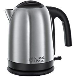 Russell Hobbs 20070 Cambridge Kettle, 1.7 L, 3000 W, Brushed Stainless Steel Silver and Russell Hobbs 18790 Futura 4 Slice Toaster, Stainless Steel Silver: Amazon.co.uk: Kitchen & Home