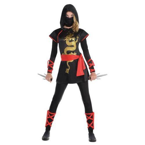 Teenage Ninja. Halloween Costumes for Tween Girls Aged 9-14