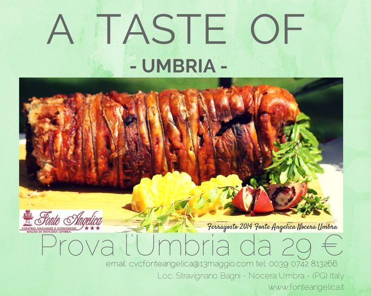 La cucina ha il suo peso, anche la #porchetta ha il suo..#AtasteofUmbria prova l'Umbria da 29 € cvcfonteangelica@13maggio.com