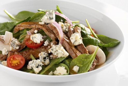 Mick's Sizzling Salad /// Chef Mick White from Carleton College prepared the dish, using ingredients from Gilbertson Farms. Visit https://apps.carleton.edu/campus/dining_services/facilities/ to learn more about their dining services. (photo: Google images)