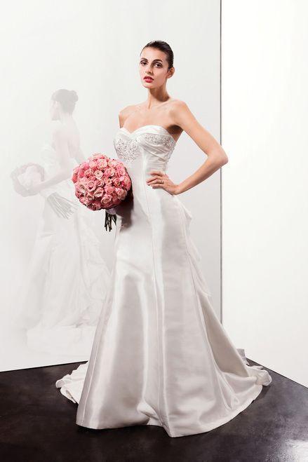 Benjamin Roberts Shimmery Satin  Column Dress  Size  UK  12