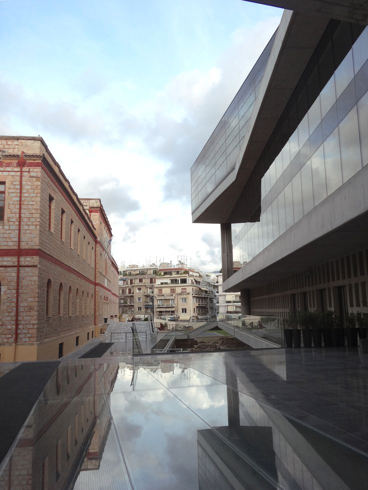 Old and new at the Acropolis Museum, Athens. Photo by Ana Bragança