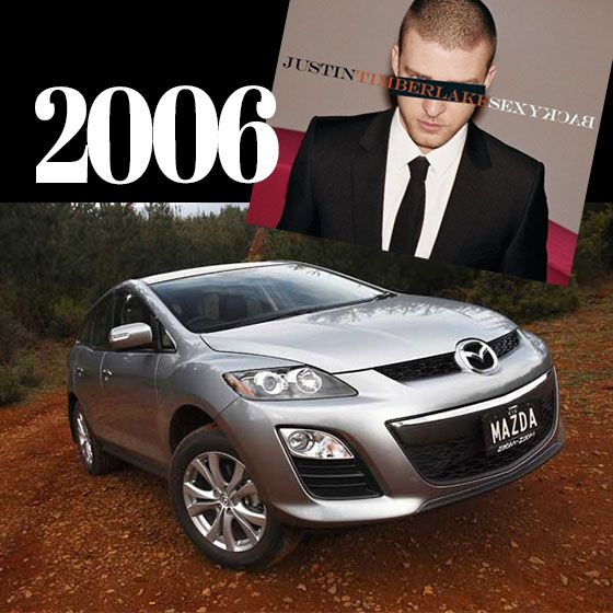 In 2006 you would definitely have been bringing sexy back in your Mazda CX7 - JT himself would have been proud! #mazdaaustralia #hornsbymazda  #CX7 #carsandmusic #justintimberlake #sexyback