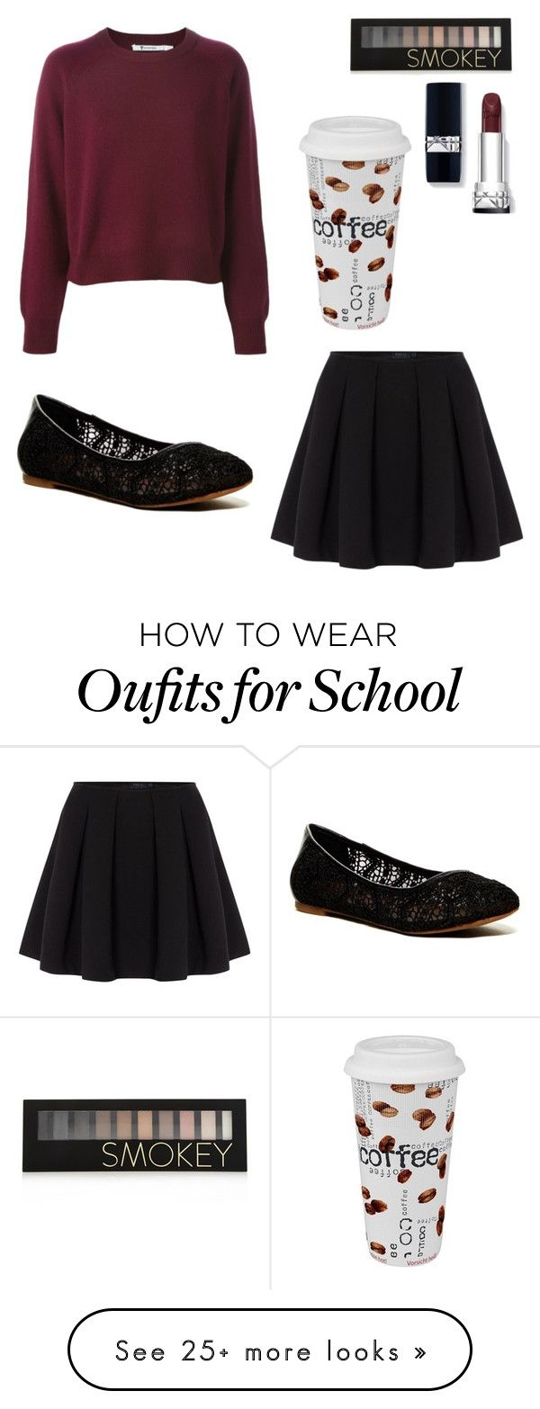 """""""Little autumn school day"""" by flogermain on Polyvore featuring Polo Ralph Lauren, Lucky Brand, Forever 21 and Könitz"""