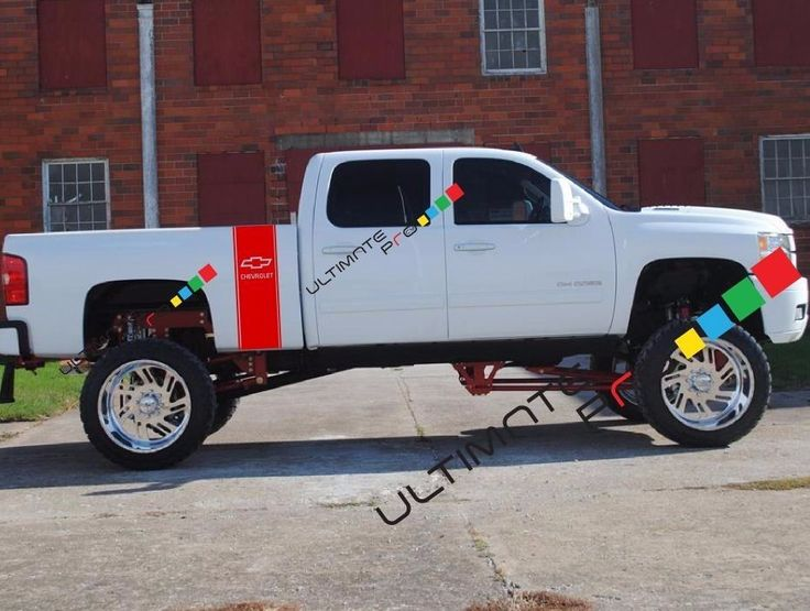 Best Decals For Chevrolet Silverado Images On Pinterest - Chevy decals for trucksmore decalchevrolet silverado rally edition unveiled