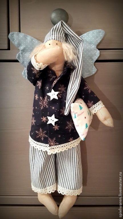Купить Сонный ангел Рождества - сонный ангел, сплюшка, сплюшкин, тильда, тильда кукла