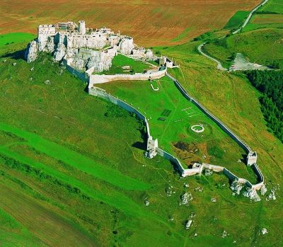 largest medieval castle complex in Europe - Spišský Castle in #Slovakia